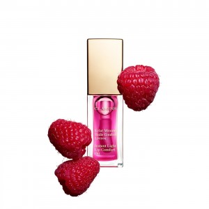 Olejek do Ust | Instant Light Lip Comfort Oil - 02 raspberry